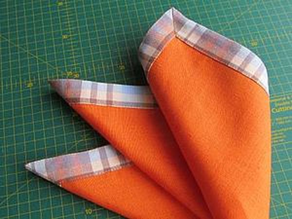 How to Sew Napkins in a Few Steps | Livemaster - handmade
