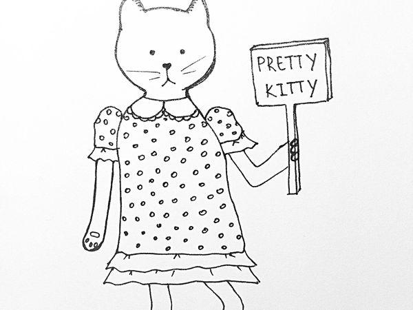 Кошки - это не только мягкий мех | Ярмарка Мастеров - ручная работа, handmade