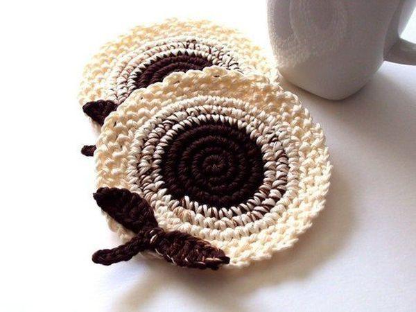 Вязание ровного круга крючком  столбиками без накида. | Ярмарка Мастеров - ручная работа, handmade