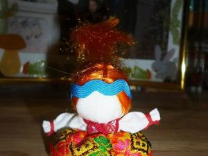 Куколка «На Счастье» - это народная кукла, оберег.. Ярмарка Мастеров - ручная работа, handmade.