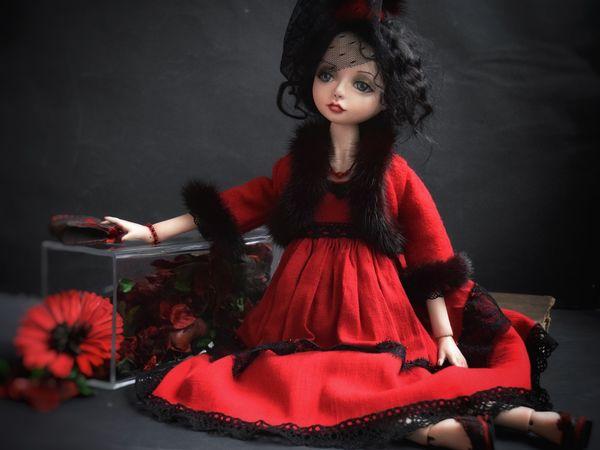 Кукла Мия   Ярмарка Мастеров - ручная работа, handmade