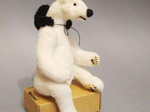 Белый медведь. Мишка тедди | Ярмарка Мастеров - ручная работа, handmade