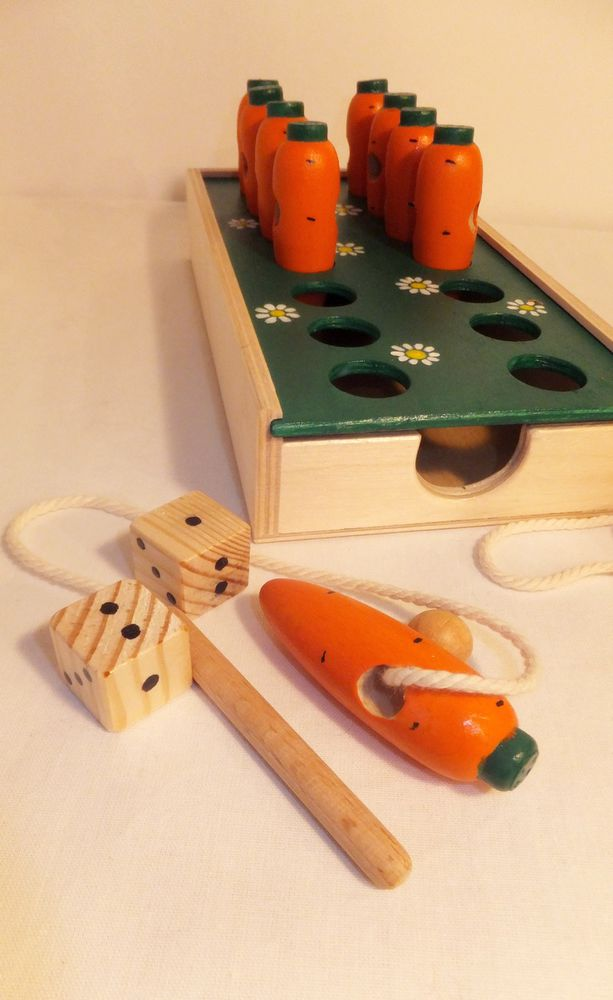 настольная игра, морковки игра, игрушка монтессори