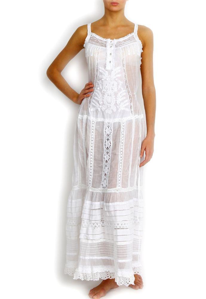 Белое бохо, или Шикарная одежда для королевы летнего пляжа, фото № 65