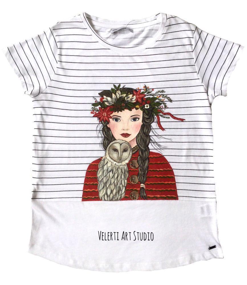 акция магазина, распродажа готовых работ, акция сегодня, футболка с рисунком, футболка женская, одежда для женщин, сова, совушка, весна 2017