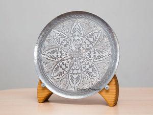 В магазине новинка - Тарелка декоративная ручной работы.. Ярмарка Мастеров - ручная работа, handmade.
