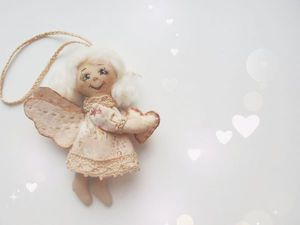 Рождественский Ангел...... | Ярмарка Мастеров - ручная работа, handmade
