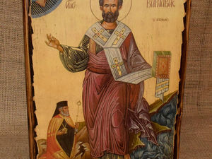Святой апостол Варнава. Ярмарка Мастеров - ручная работа, handmade.