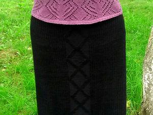 Аукцион на черную классическую юбку. Ярмарка Мастеров - ручная работа, handmade.