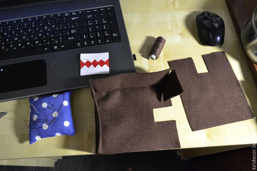 мастер-класс по шитью, игрушка ручной работы