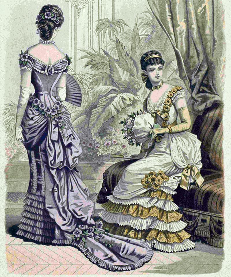 Восхитительная мода конца ХIХ века, фото № 8