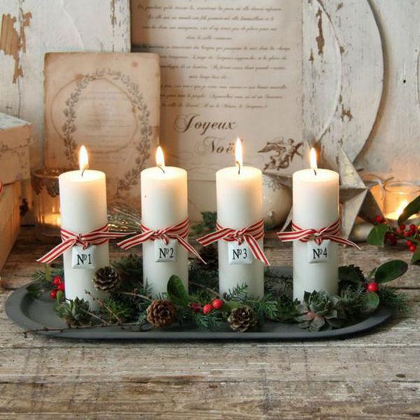рождественский венок, символ нового года