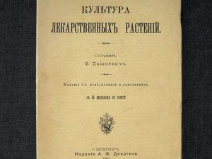 1902 год. Лекарственные растения. Антикварное издание книга. Ярмарка Мастеров - ручная работа, handmade.