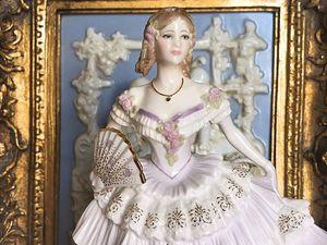 Статуэтка Красавица Бала Лимитированная серия Викторианские балы Royal Worcester | Ярмарка Мастеров - ручная работа, handmade
