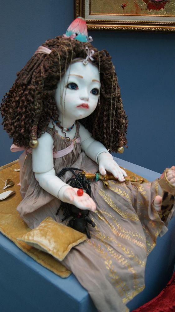 Выставка «Искусство куклы» в Гостином дворе, фото № 24