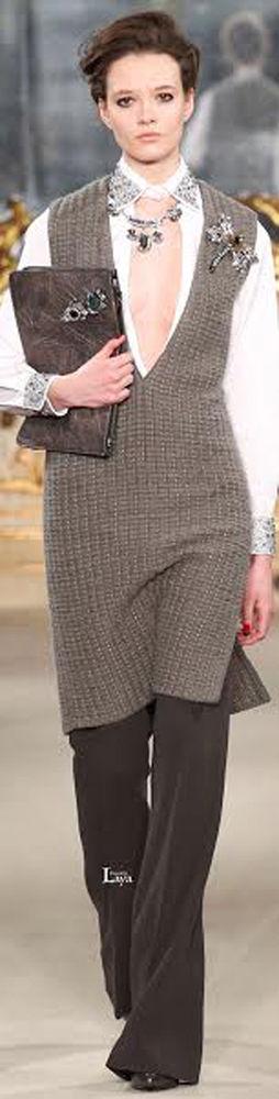 винтажные броши - как носить, фото № 1