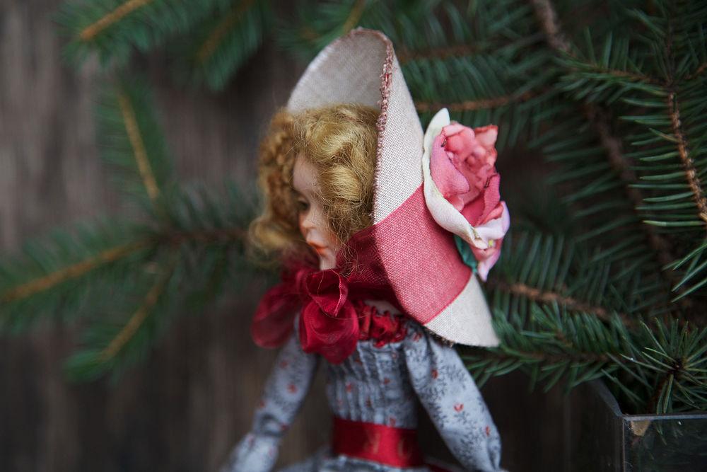 Дополнительные фотографии куклы ручной работы Софии., фото № 1
