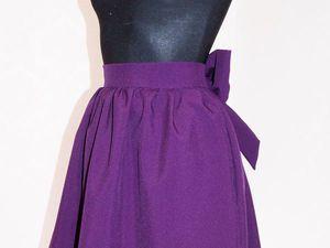 Шьем юбку с бантом. Ярмарка Мастеров - ручная работа, handmade.