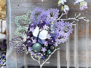 """Коллекция брошей """"Цветы Пандоры"""". Ярмарка Мастеров - ручная работа, handmade."""