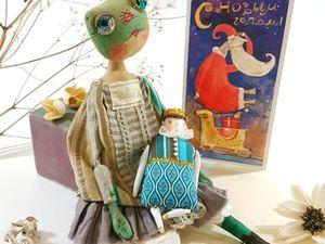 Необычная лягушка. Ярмарка Мастеров - ручная работа, handmade.