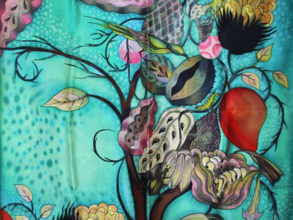 Мастер-класс по Батику ВТОРНИК 07 февраля  12-00. Холодный батик. | Ярмарка Мастеров - ручная работа, handmade