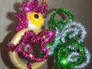 Делаем вместе с детьми ёлочную игрушку «Петушок». Ярмарка Мастеров - ручная работа, handmade.
