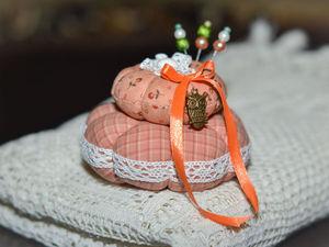 Шьем подарочную игольницу к 8 марта | Ярмарка Мастеров - ручная работа, handmade