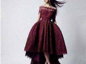 Гипюр: Красота женской фигуры, через призму правильно подобранной ткани. | Ярмарка Мастеров - ручная работа, handmade