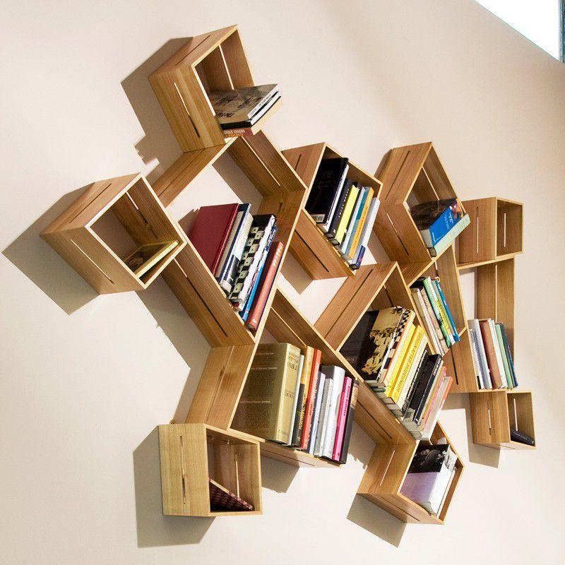 Книжная полка на стену своими руками