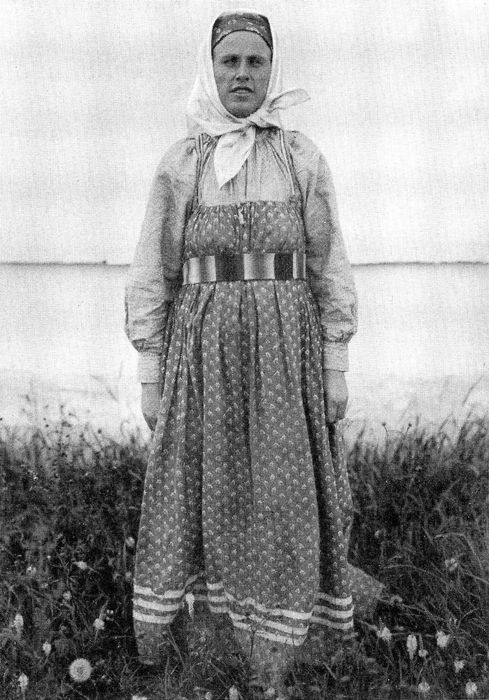Русская национальная одежда фото старинные фото