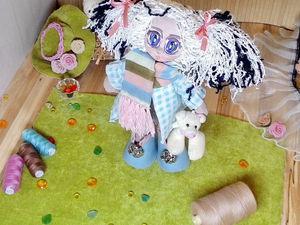 Куколка Ася | Ярмарка Мастеров - ручная работа, handmade