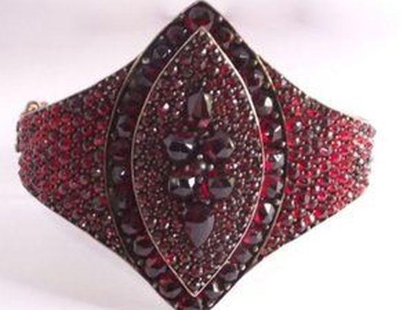 Гранатовый браслет | Ярмарка Мастеров - ручная работа, handmade