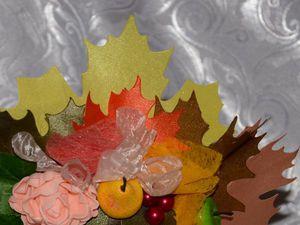 Создаем «долгоиграющие» осенние листья из остатков ткани. Ярмарка Мастеров - ручная работа, handmade.