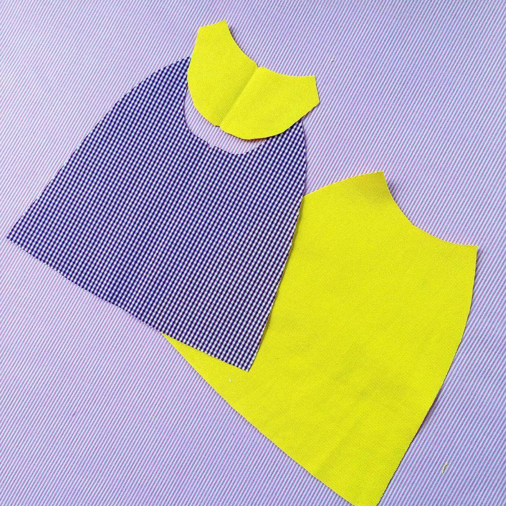 Курточка для куклы от Дины Крыловой (МК), фото № 5