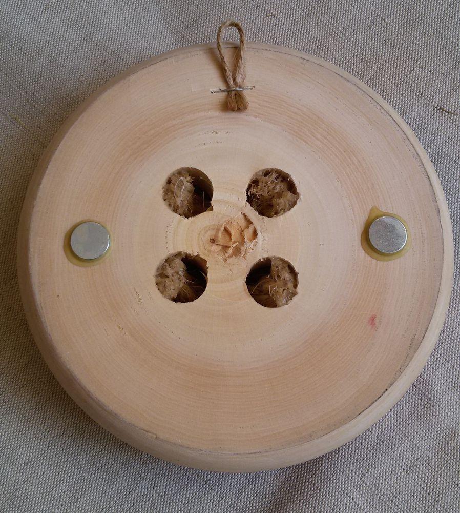 деревянная пуговица, ситец