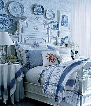 Lauren Ralph Lauren Cottage Hill Bedding Collection. I love the whole room