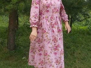 Отзыв о платье Миди Прованс. Ярмарка Мастеров - ручная работа, handmade.