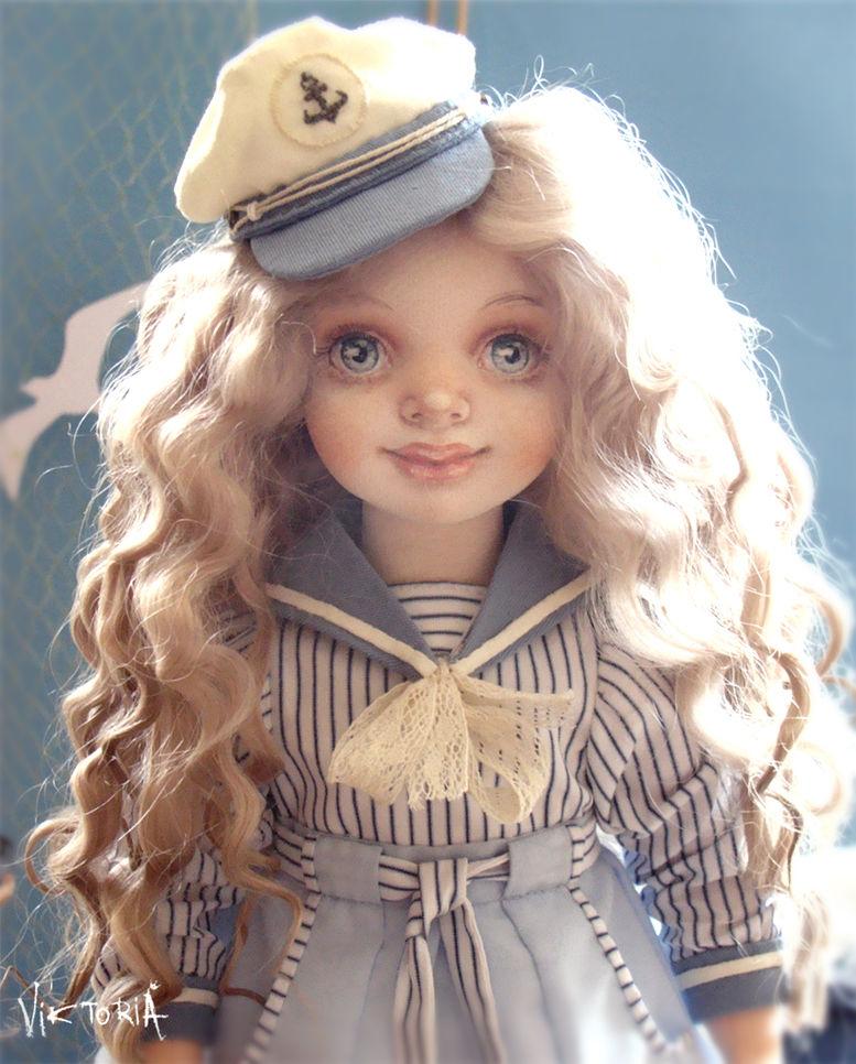 кукла текстильная, кит