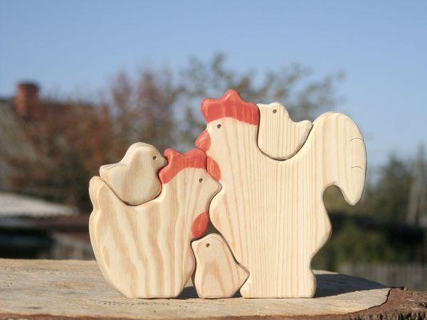 Петушок - золотой гребешок! создание деревянной игрушки. Часть 1 | Ярмарка Мастеров - ручная работа, handmade