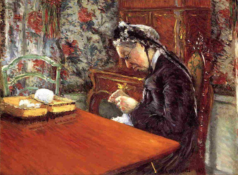 Когда есть чем заняться — стареть некогда: душевные картины о бабушках-рукодельницах, фото № 15