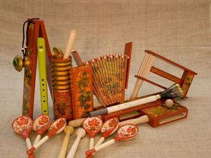 Уникальные музыкальные инструменты | Ярмарка Мастеров - ручная работа, handmade