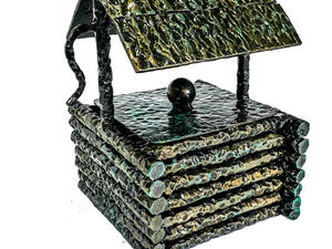 Подарок для мужчины Пепельница Старый колодец. Ярмарка Мастеров - ручная работа, handmade.