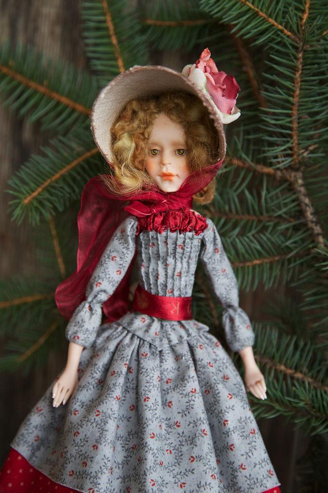 Дополнительные фотографии куклы ручной работы Софии., фото № 8