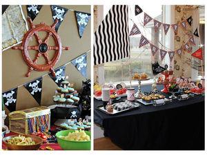 Детский день рождения в стиле пиратской вечеринки | Ярмарка Мастеров - ручная работа, handmade