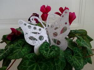 Тандем декоративной ленты и картона: изготовление бабочки | Ярмарка Мастеров - ручная работа, handmade