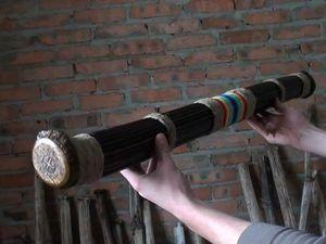Мастер-класс по изготовлению Посоха дождя. | Ярмарка Мастеров - ручная работа, handmade