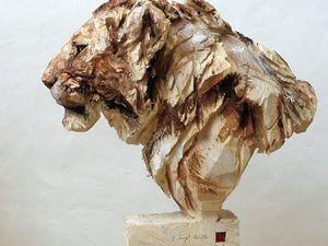 12 мегареалистичных животных из дерева от Juergen Lingl-Rebetez. Ярмарка Мастеров - ручная работа, handmade.