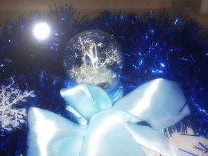 Мастер-класс: снежный шар своими руками. Ярмарка Мастеров - ручная работа, handmade.