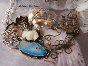 Новая работа Комплект украшений(колье и браслет) Царевна-Лебедь. | Ярмарка Мастеров - ручная работа, handmade