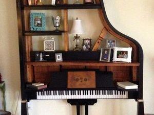 Идеи и вдохновение.Вторая жизнь старого рояля.. Ярмарка Мастеров - ручная работа, handmade.